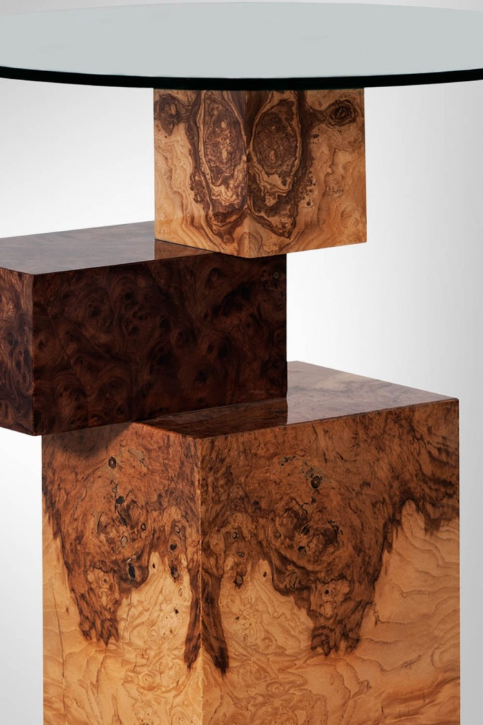Equilibirum side table by Amarist