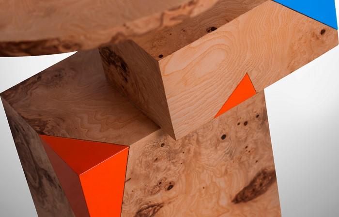 Geometric wood