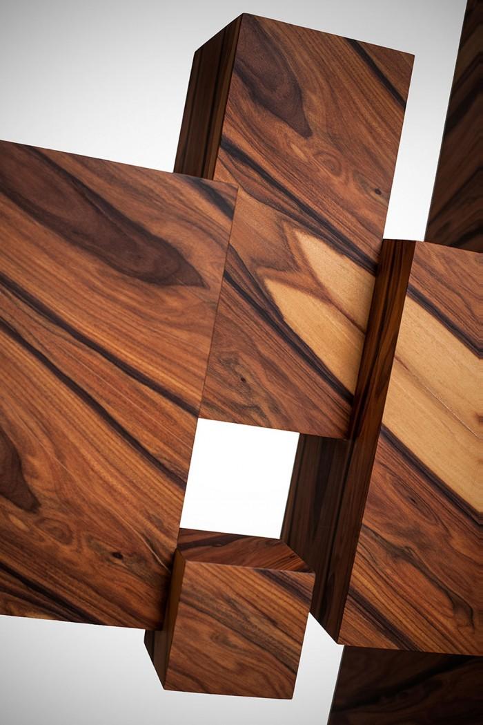 Geometrc wood