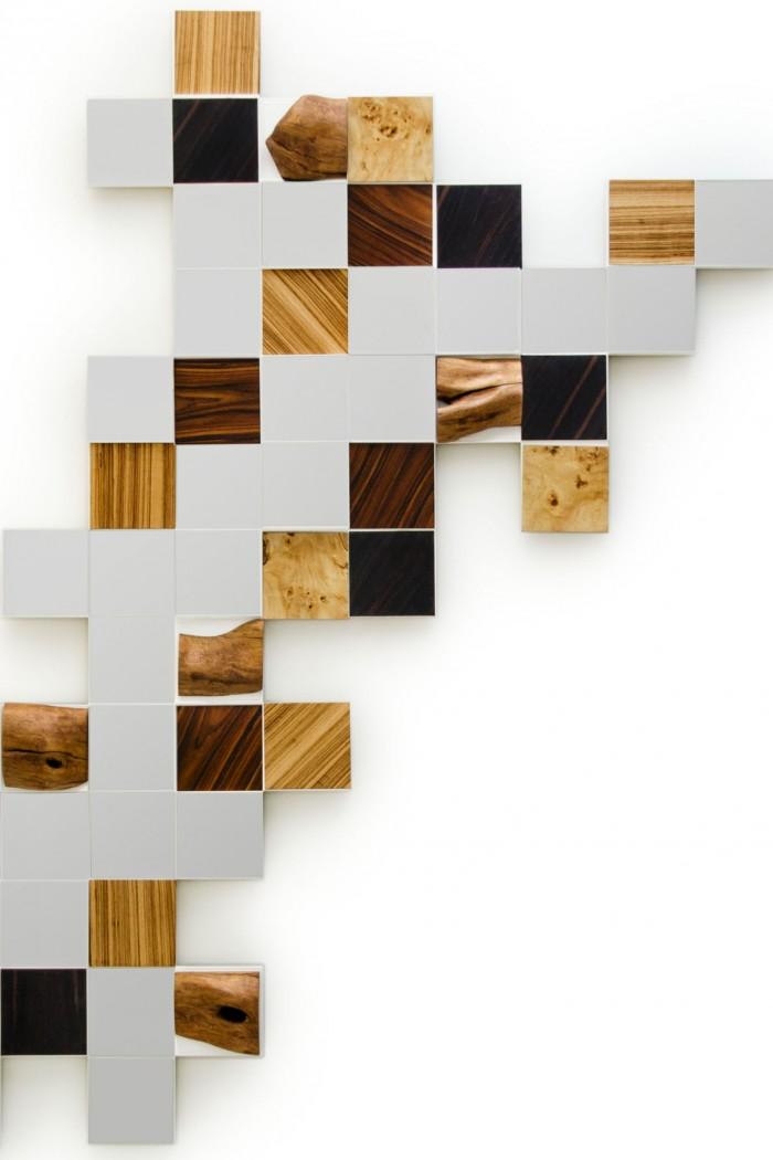 Collage mirror by Amarist