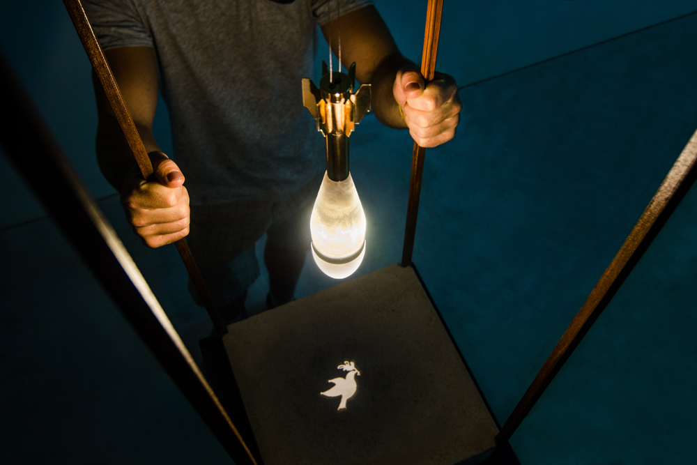 Angels&Demons Lamp by Amarist studio