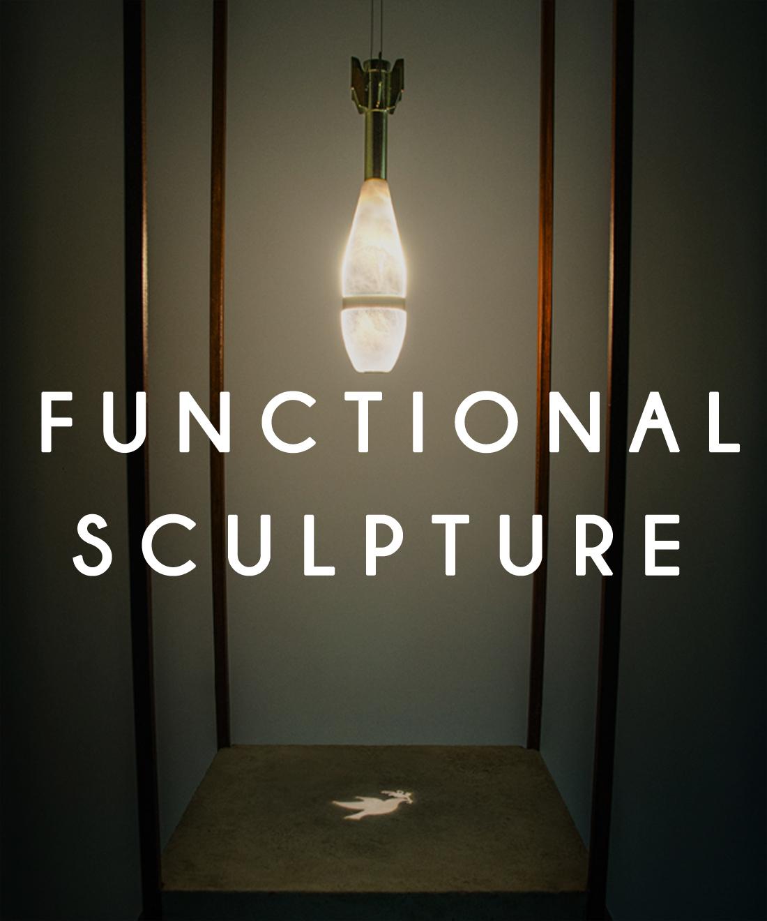 Functional sculpture by Amarist studio