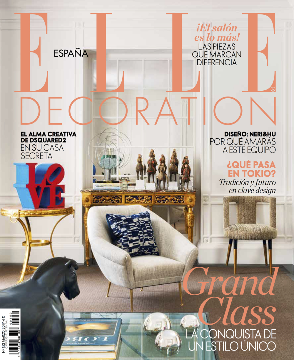Welcome lamp by AMarist studio at Elle Decoration magazine