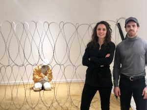 Arán Lozano and CLara Campo - Welcome Exhibition Washington DC - Amarist Studio