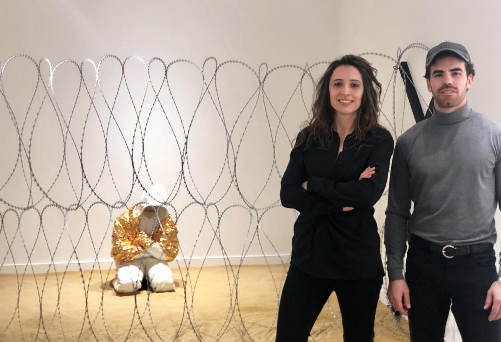 Arán Lozano and CLara Campo - Welcome Exhibition Washington DC - Amarist Studio