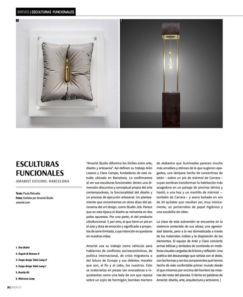 Room Magazine - Amarist Studio