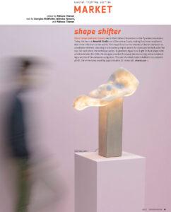 Amarist feature in Interior Design Magazine