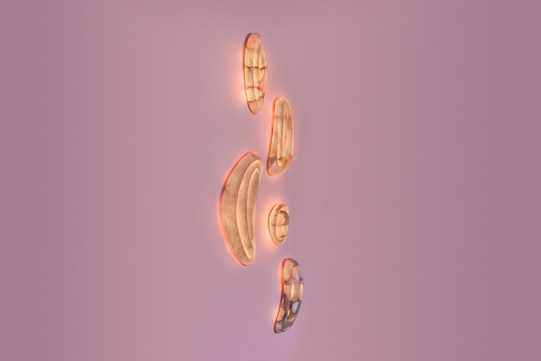 Alabaster wall lights